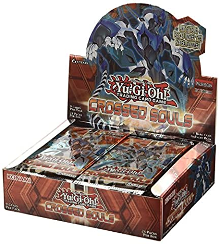 Jeu de cartes Yu-Gi-Oh Crossed Souls Booster (Lot de 24)