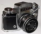Cámara Réflex–Camera Exakta varex II a de Dresden ihagee, incluye objetivo Jena T 1: 2.8F = 50# # # Vieja difíciles analógica técnica coleccionar–by lll # # #