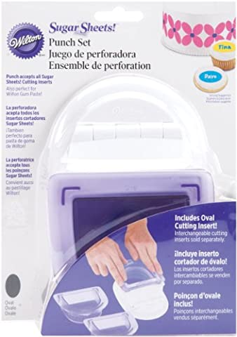 Wilton Sugar Sheets Punch Set-Oval