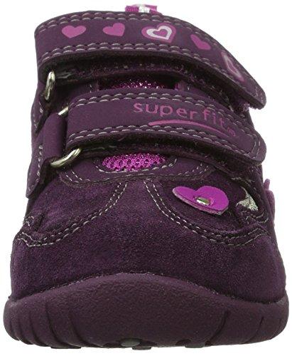 Superfit - Sport3, Scarpe basse Bambina Violett (eggplant KOMBI)