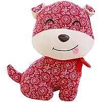 2018 Year Of The Dog Mascota Muñeca Zodiac Puppy Plush Toys, A1 - Peluches y Puzzles precios baratos