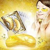 20 Paar Original Crystal Collagen Gold Eye Mask Augenpads Anti Aging Feuchtigkeitsmaske