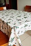 Tablecloth Hoja de Navidad Ultra-práctico Mesa de jardín del paño de Tela Cubierta de usos múltiples artículos (Tamaño : 152 * 259cm)