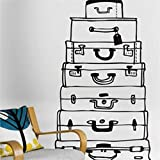 Decals Design 'Awesome Suitcases' Wall S...
