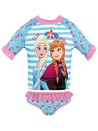 Disney Girls Frozen Swim Set Ages 6 Months to 10 Years