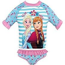 Disney Frozen - El Reino del Hielo Bañador de Dos Piezas para niña Frozen