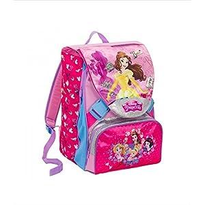 51 mEfBc9qL. SS300  - Seven Mochila Princess / Princesas MagICAL DREAM DISNEY SCHOOLPACK PRINCESS 2018/19 + Estuche R Gadget de regalo
