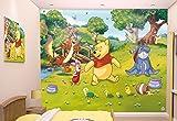 Walltastic 42100 Disney, Winnie Pooh, Tapete, Wandbild, Paper, bunt, 52,5 x 7 x 18,5 cm