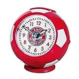 Wecker Fußball rot/weiß