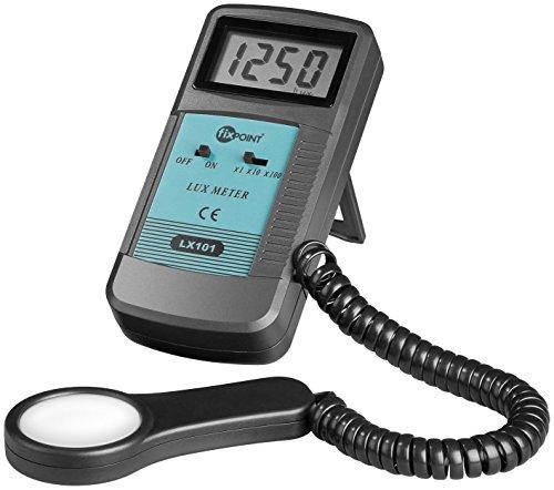 Fixpoint MS 6610 - Fotómetro (pantalla LCD, 9 V), gris