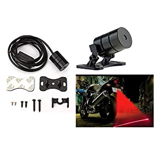A2D Bike Rear LED Laser Fog Light for Hero HF Dawn