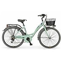 "MBM Agora, Bicicletta da Trekking Unisex – Adulto, Verde (Menta A13), 26"""