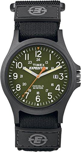 Timex Unisex-Armbanduhr Analog Quarz Textil TW4B00100 (Timex Zurück)