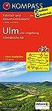 Ulm und Umgebung - Schwäbische Alb: Fahrrad- und Mountainbikekarte. GPS-genau. 1:70000 (KOMPASS-Fahrradkarten Deutschland, Band 3115) -