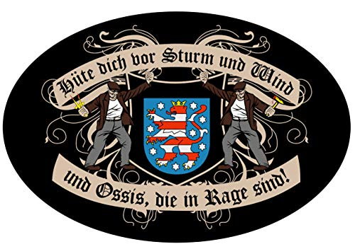 Hüte Dich DDR Thüringen 15 oder 53cm Ossi Bundesland Zone ()