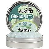 "Crazy Aaron's Thinking Putty Fantasmas Reactivos UV - 4"" FOXFIRE"