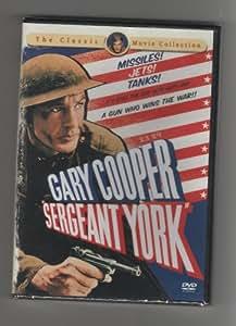 SERGEANT YORK:KOREAN ALL REGION IMPORT...NTSC:Gary cooper~Joan Leslie~Walter Brennan...