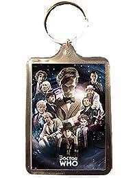 Doctor Who - Keyring (11 Doctors)