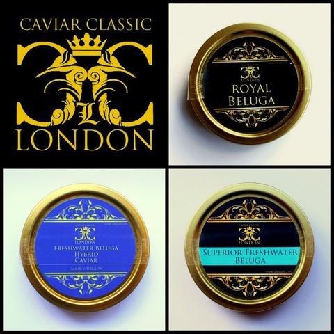 Le Trio Royal de Caviar 3x30