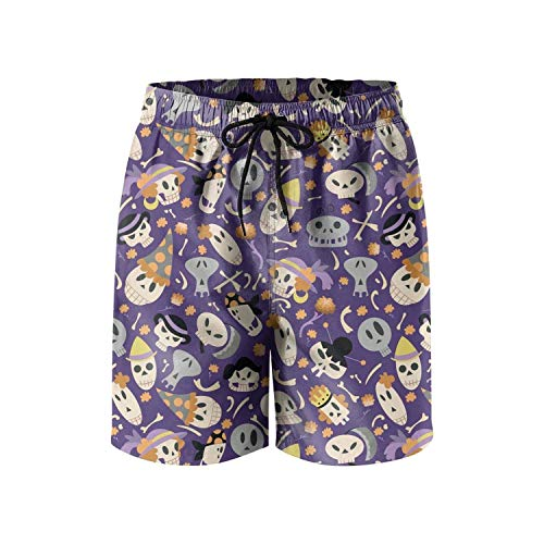 ZKHTO Custom cat Halloween Orange Quick Dry Man's Shorts for Beach,Shorts Size L - Under Armour Graphic T-shirt Baseball
