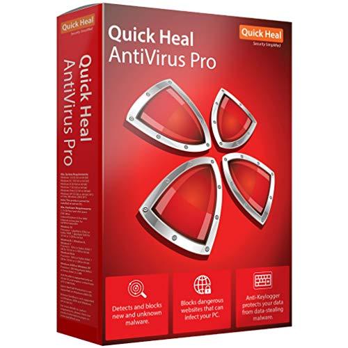 Quick Heal Antivirus Pro Latest Version - 1 PC, 1...