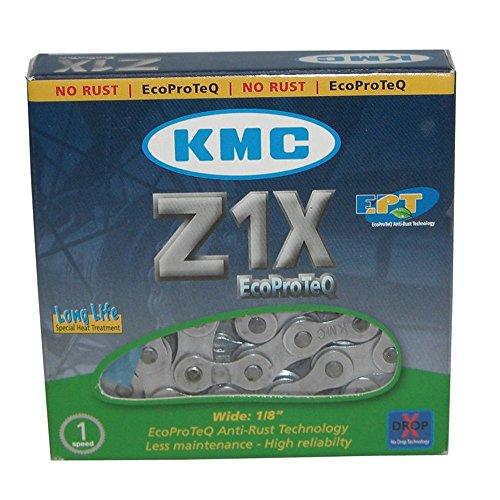 Fahrradkette KMC Z1X EPT 1/2 x 1/8 112 Glieder 8,6mm, silber