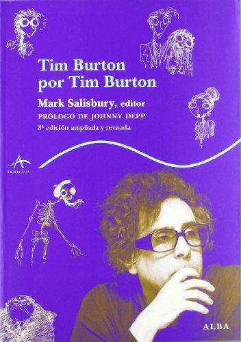 Tim Burton por Tim Burton (Trayectos Vidas y letras) por Mark Salisbury