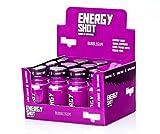 Energy Drink - Little Dragon Energy Shot - Mit 180mg Koffein in jeder Flasche - für körperliche Leistungsfähigkeit (Bubble-Gum, 12er-Pack)