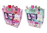 Slimy Creations- Cup-Cake Slime Coleccionable, Color Fresa/Menta (Fábrica de Juguetes 41312)