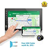 Woodman WM2027 HD Full Touch Screen Double Din Car Stereo, Bluetooth/USB/AUX (with Camera)