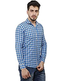 [Sponsored]MENS FULL SLEEVES STYLIST CASUAL SLIM FIT CHECKS SHIRT