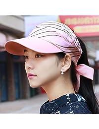 ERLINGSAN-MZ Sombrero Gorras Femeninas Sha Mao Hannan Tapa vacía Sombrero  de Copa tamaño Grande 1258c22551e