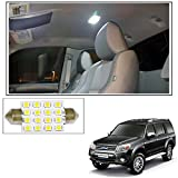 #6: Vheelocityin 16 SMD LED Roof Light White Dome Light for Ford Endeavour Old