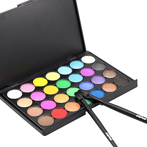 Etosell 15/28/40 Couleurs Palette De Fard A Paupieres Maquillage Cosmetique Mat