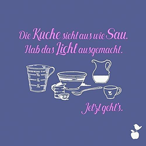 cm Krawall-Spatzen Jetzt geht's Küche Sau Sprüche Feier Gag ()