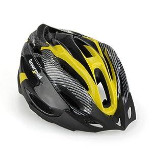 Casco de Ciclismo Bicicleta Bici Protección Ajustable Amarillo