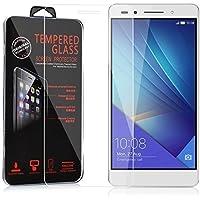 N4U Online® Huawei Honor 7 Anti-Shatter Explosion Proof Genuine Tempered Glass Film Screen Protector (N4U10)