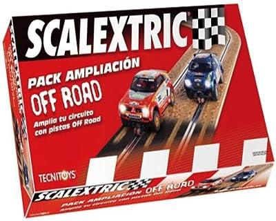 Scalextric Original - Pack Ampliación Off-Road para circuitos Scalextric Original (8870)