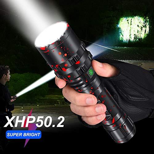 LIGHTBEK 65000LM Profesional más Potente xhp502 Linterna