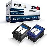 Print-Klex Kompatible Tintenpatronen Sparset für HP C8727AE C8728AE HP27 HP28 OfficeJet 5610 V OfficeJet 5610 XI OfficeJet 5615 PSC 1200 Series PSC 1205 PSC 1210 PSC 1210 XI PSC 1215 PSC 1217 PSC 1219 Black und Color