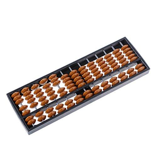 Suweqi Abacus Arithmetik 13 Spalten Kunststoff Abacus Soroban Arithmetik Mathematische Berechnung Kinder Abacus Bildung Werkzeug Mit Bunten Perlen Kindes Berechnung Werkzeugue
