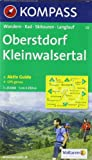 Oberstdorf, Kleinwalsertal: Wandern/Rad/Skitouren/Langlauf - GPS-genau - 1:25.000 -