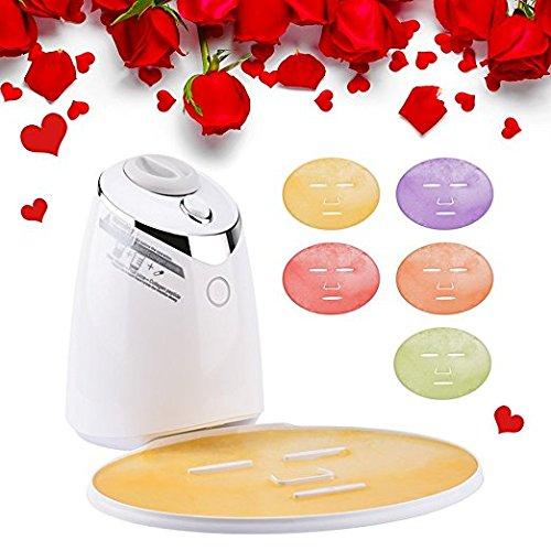 2 in 1 Gesichtsmaske Maschine,MS.DEAR DIY Gesichtsmaske Maker Natürliche Frucht Gemüse Schönheit Automatische Multifunktionsreinigung Poren Clear Mitesser Akne Remover