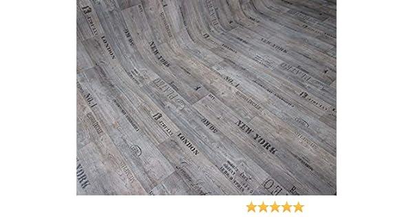 - Eiche Natur gesch/äumt edle Holzoptik Meterware Oberfl/äche strukturiert extra abriebfester PVC Bodenbelag casa pura/® CV Bodenbelag Mombasa 200x300 cm