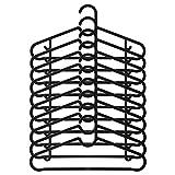 IKEA ASIA SPRUTTIG Kleiderbügel schwarz