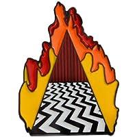 pretty.lovable.mishmash Twin Peaks Pin Black Lodge Portal Spilla Smaltata Badge Dougie Jones Mr Jackpots Red Room