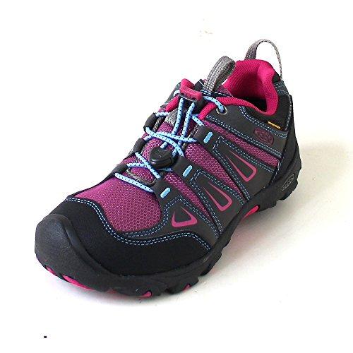 Keen Oakridge Low WP, Chaussures de Randonnée Basses Mixte Enfant
