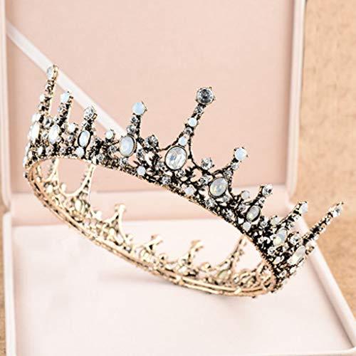ochzeit Accessoires Retro Barock Crown europäischen und amerikanischen Queens Dance Headwear Stirnband ()