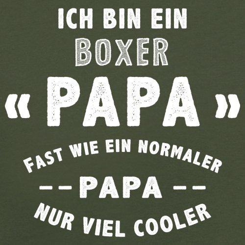 Ich bin ein Boxer Papa - Herren T-Shirt - 13 Farben Olivgrün