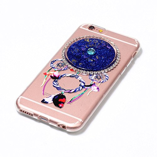 Silikon Kreativ Hülle Treibsand Glitzer Tasche Transparent Handyhülle Sparkle 7 8 Flüssig Heart Dynamisch B Iphone Tpu 3d Schwimmend 4 Soft Liquid Glitter Design shaped 6 Hülle Case Fließen Zoll Hart a1InXvq